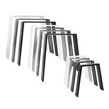 Design Tischkufen Bankkufen Möbelkufen CLASSIC Tischgestell Esstisch Schwarz DIY