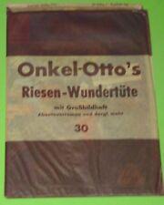 ONKEL OTTO RIESEN - WUNDERTÜTE m. GROSSBILDHEFT / LEHNING - SIGURD - WÄSCHER OVP