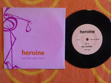 """HEROINE Our Little Audio 7-Inch 7"""" w/ PICTURE SLEEVE Fuzzy Box 1994 INDIE ROCK"""