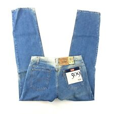VTG 80s NWT Levis 509 Orange Tab Straight Leg Jeans Tagged 33x32 Mea 33x32.5