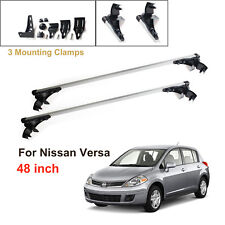 For Nissan Versa 2007-2011 Aluminum Car Roof Cross Bar Cargo Luggag Carrier Rack
