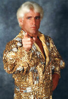 Nature Boy Ric Flair Wrestling WWE Unsigned 8x10 photo