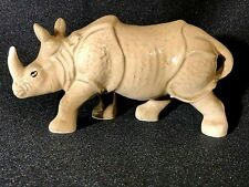 Vintage Japan Rhinoceros Figurine 2X4