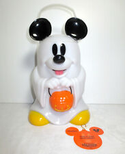Disney Parks - Mickey Mouse Ghost - Trick or Treat Glow Lantern - Popcorn Bucket