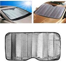 Auto Sun Shade Windshield Cover Folding Jumbo Front Rear Car Visor Block Cover