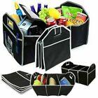 3in1 Car Van Suv Boot Trunk Organizer Tidy Travel Shopping Foldable Storage Bag