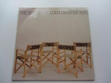 THE BEATLES  GOLDEN GREATEST HITS    GERMAN BOOK CLUB LP   CHAIR COVER   EX