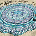 Indian Wall Hanging Tapestry Mandala Hippie Yoga Mat Bohemian Beach Throw Decor