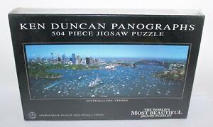 Australia Day Sydney Harbour Jigsaw Puzzle 504 Ken Duncan Crown & Andrews