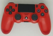 PS4 Official Dual Shock 4 Red Version 2 Controller CUH-ZCT2E VGC FAST FREE POST