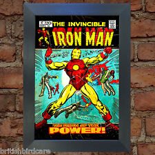 IRON MAN Comic Cover 47th Edition Cover Reproduction Vintage Wall Art Print #7