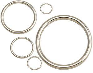 Metal O Rings Buckle Loop Webbing craft Tape Strap 25 30 45 58mm