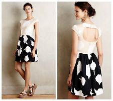 NWT Anthropologie Troubadour Contrast Study Dress, 4, Adorable Dress, $228