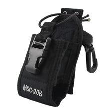 New Walkie Talkie Nylon Radio Pouch Case Bag for Kenwood Motorola Two-Way Radio