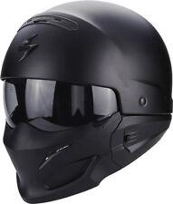 Scorpion Bekämpfung mattschwarz Streetfighter 2in1 Motorrad Helm - M