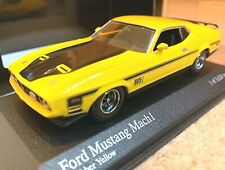 Minichamps Ford Mustang Mach 1 1971 Yellow 1/43 RARE Special Edition 400087120