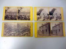Vintage Sterescope Cards Photo G.W. Wilson Scotland Rabbie Robert Burns Dumfries