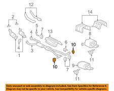 GM OEM Exhaust-Rear Muffler Gasket 92280995