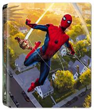 Spider-Man Homecoming 3D Blu-ray Steelbook Film Arena REGION-FREE no dents, mint