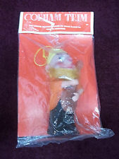 Banjo Playing Dwarf Elf Vintage Corham Trim Christmas Xmas Ornament New In Pkg