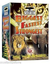 NATURE - BIGGEST FASTEST STRONGEST 2006 DVD 6-Disc Set New & Sealed 11+ HOURS