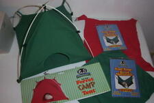 Sheppard & Greene Ferret Rat Green Tent Toy & Green and Red Cage Hammocks