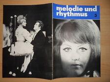 MELODIE UND RHYTHMUS 3/1966 Rica Déus 10 Jahre ASTORIA Musical : My Fair Lady