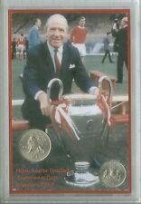Manchester United Matt Busby Babes European Cup Final Winners Coin Gift Set 1968