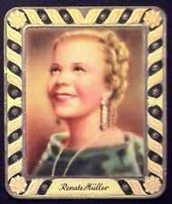 Renate Müller 1936 Garbaty Passion Film Star Embossed Cigarette Card #174
