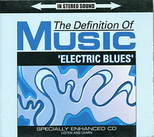 "CD- Definition of Music: 'Electric Blues'- Enhanced ""Listen And Learn""- Digipack"
