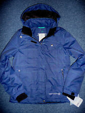 Free Country Radiance Jacket Womens Ski Snowboard Insulated Coat Blue XS $160