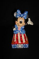 Jim Shore Disney Traditions, Yankee Doodle-Star Spangled Minnie Mouse! New!