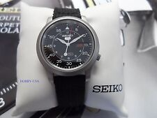 SEIKO  5 SNK809 Stainless Steel Black Canvas Strap SEIKO Automatic SNK809-NEW