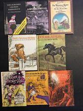 8 Vintage Children's Weekly Reader Book Club Books Hardcover