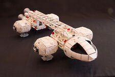 Enorme LEGO SPAZIO 1999 EAGLE TRANSPORTER istruzioni MOC; piena scala minifigura