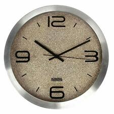 Kendal12'' Led Silent Modern Wall Clock with Night Light Wc3012 S3