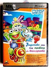 Muppet Babies Jugando Medios Transporte PAL/SPA PC Retro Videojuego Precintado