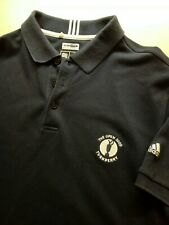 Adidas Open Turnberry 2009 Golf Polo Shirt Loose Fit L Grande