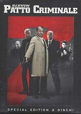 2 Dvd **SLEVIN PATTO CRIMINALE** Bruce Willis Morgan Freeman Lucy Liu nuovo 2006