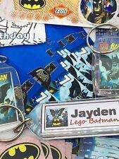 84 oggetti Ultimate Party Pack Bambini BOTTINO BORSA RIEMPITIVI Lego Batman * 12 Kids *