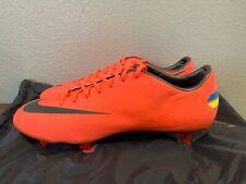 Nike Mercurial Vapor VIII FG Soccer Cleats Mango 509136-800 Men Sz 10.5