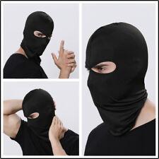 Adult Man Balaclava Tactical Motorcycle Cycling Outdoor Ski Full Face Mask Black