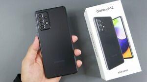 BRAND NEW Samsung Galaxy A52 5G - 128GB - Awesome Black AT&T (Unlocked)