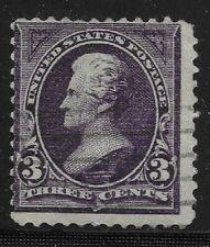 Francobolli statunitensi viola usati