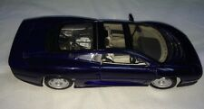 Maisto Jaguar XC220 Metallic Blue 1:18 Scale Replica Diecast Car Used 14+ 10x4x3