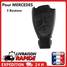 Coque clé pour MERCEDES BENZ 3 boutons W168 W202 W203 W208 W210 W211 plip