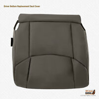 Volvo xc90 front seat cover leather upholstery bottom dark gray off black  new
