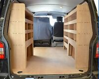 VW Transporter T5  T6  T28  T30  T32 Plywood Van racking system - WRK37.39.39