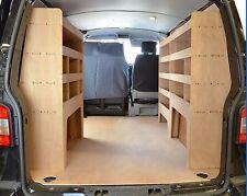 VW Transporter T5  T6  T28  T30  T32 Plywood Van racking system - WRK37.39.39