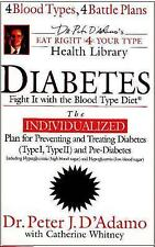 Diabetes: Fight It with the Blood Type Diet (Dr. Peter J. D'Adamo's Ea-ExLibrary